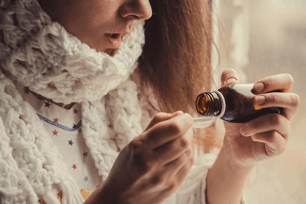 Прием сиропа в разгар заболевания