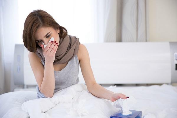 Простуда с кашлем у женщины