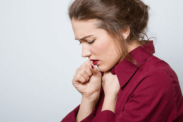 Сухой кашель и боль в горле