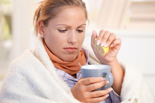 Свойства лимона при простуде
