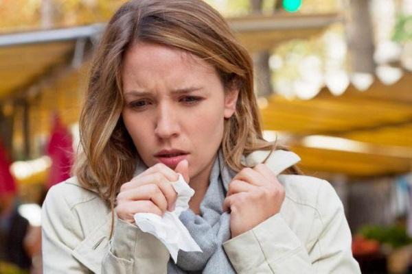 Остаточный кашель у женщины