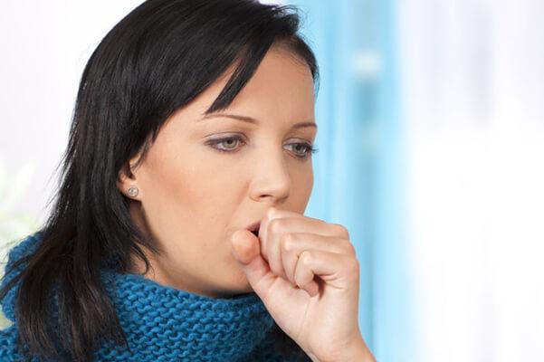 Приступ сильного кашля